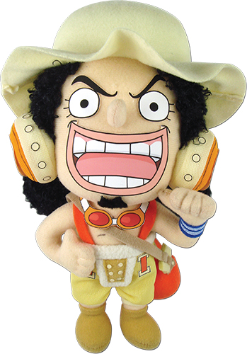 One Piece - Usopp Plush 8'' officially licensed One Piece Plush product at B.A. Toys.