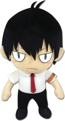 Reborn! - Hibari Uniform Plush 8'', an officially licensed product in our Reborn! Plush department.