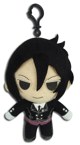 Black Butler - Sebastian Plush 5, an officially licensed Black Butler product at B.A. Toys.