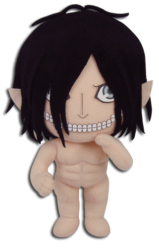 Attack On Titan - Eren Titan Stye Plush 8''H, an officially licensed product in our Attack On Titan Plush department.
