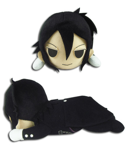 Black Butler - Sebastian Lying Posture Plush 8, an officially licensed Black Butler product at B.A. Toys.