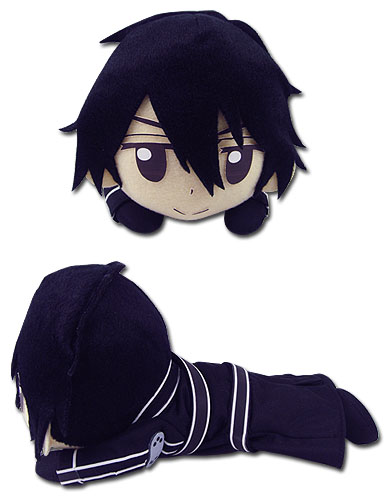 Sword Art Online - Kirito Lying Posture Plush 8'', an officially licensed product in our Sword Art Online Plush department.