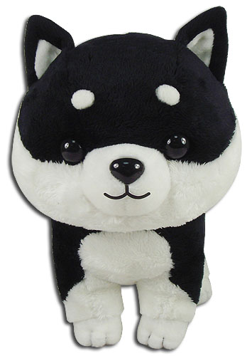 Black Shiba 8'', an officially licensed Everything Else product at B.A. Toys.