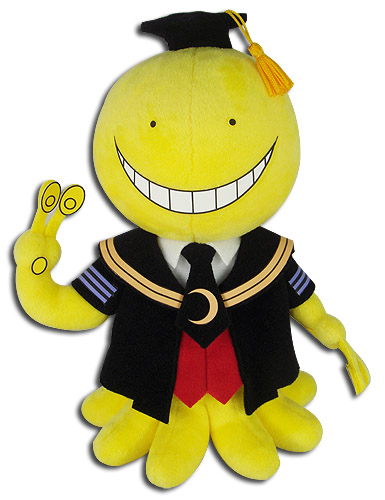 Assassination Classroom - Koro Plush 8'', an officially licensed product in our Assassination Classroom Plush department.