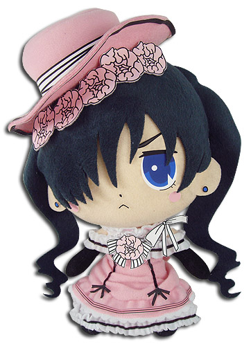 Black Butler - Ciel Pink Ballgown Plush 8, an officially licensed Black Butler product at B.A. Toys.