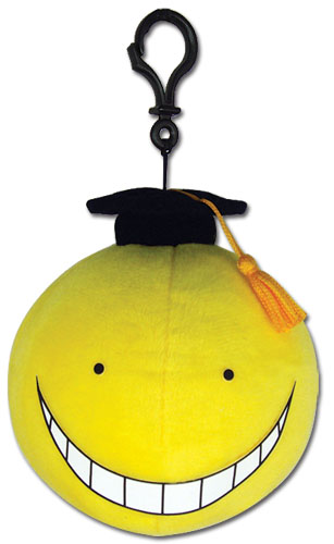 Assassination Classroom - Koro Yellow Plush 1.1'', an officially licensed product in our Assassination Classroom Plush department.