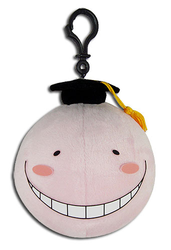 Assassination Classroom - Koro Pink Plush 4'', an officially licensed product in our Assassination Classroom Plush department.