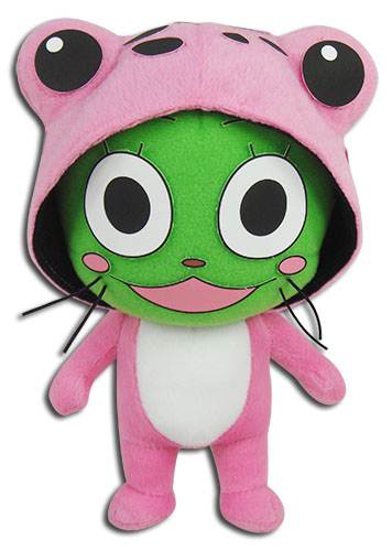 Fairy Tail - Frosch Plush 8''H, an officially licensed product in our Fairy Tail Plush department.