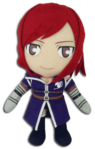 Fairy Tail - Erza S6 Clothes Plush 8'', an officially licensed product in our Fairy Tail Plush department.