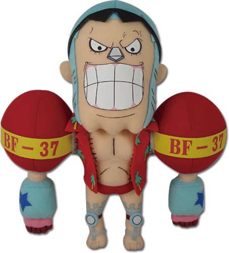 One Piece - Franky Plush 9
