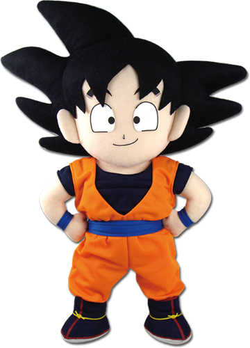 Dragon Ball Z - Goku Plush 18'' officially licensed Dragon Ball Z Plush product at B.A. Toys.