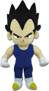 Dragon Ball Z - Vegeta Plush 18'' officially licensed Dragon Ball Z Plush product at B.A. Toys.