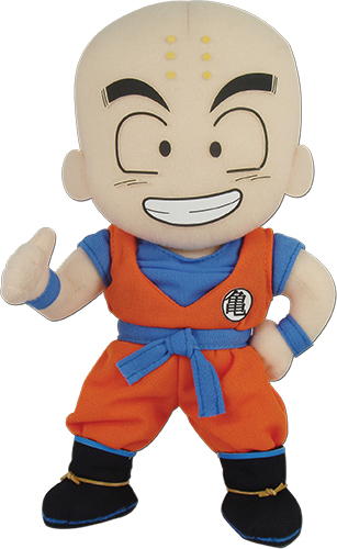 Dragon Ball Z - Krillin Plush 8'' officially licensed Dragon Ball Z Plush product at B.A. Toys.