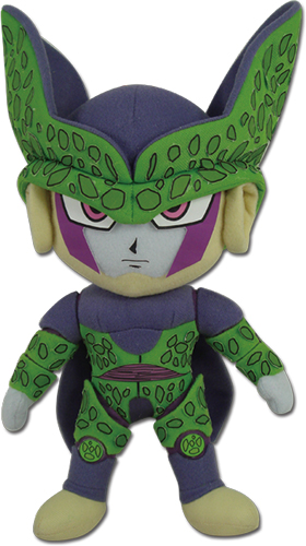 Dragon Ball Z - Perfect Cell Plush 8'' officially licensed Dragon Ball Z Plush product at B.A. Toys.