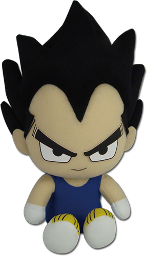 Dragon Ball Z - Vegeta Sitting Pose Plush 7'' officially licensed Dragon Ball Z Plush product at B.A. Toys.