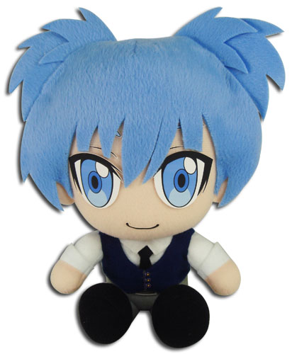 Assassination Classroom - Nagisa Sitting Pose Plush 7''H, an officially licensed product in our Assassination Classroom Plush department.