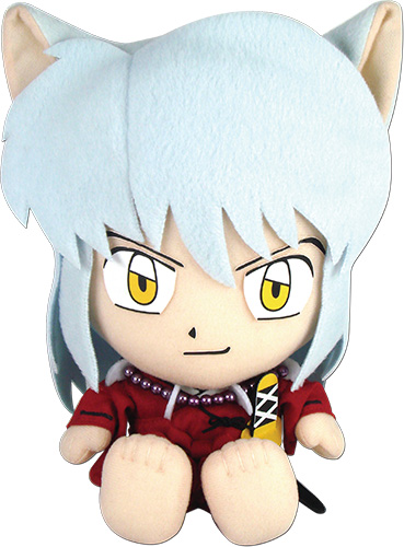 Inuyasha - Inuyasha Sitting Pose Plush, an officially licensed product in our Inuyahsa Plush department.