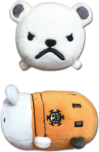 One Piece - Bepo Mini Plush 3.5'' officially licensed One Piece Plush product at B.A. Toys.