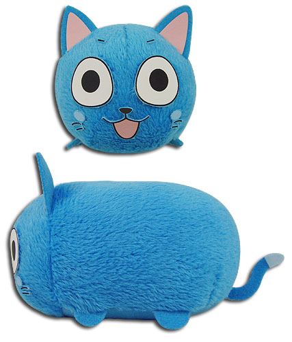 Fairy Tail - Happy Mini Plush 3.5'', an officially licensed product in our Fairy Tail Plush department.