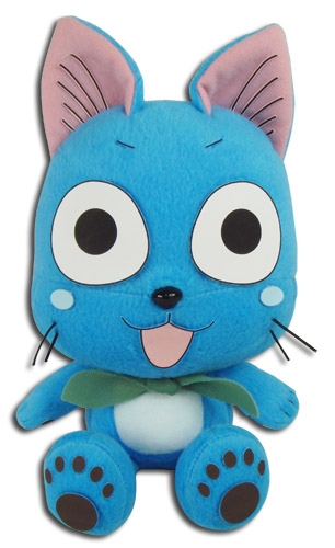 Fairy Tail - Happy Sitting Pose Plush 7'', an officially licensed product in our Fairy Tail Plush department.