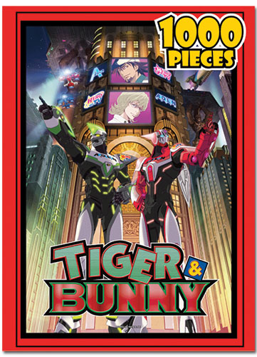 Tiger & Bunny Group 1000Pcs Jigsaw Puzzle, an officially licensed product in our Tiger & Bunny Puzzles department.