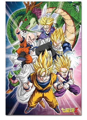 Dragon Ball Z - Group 1000pcs Puzzle, an officially licensed Dragon Ball Z product at B.A. Toys.