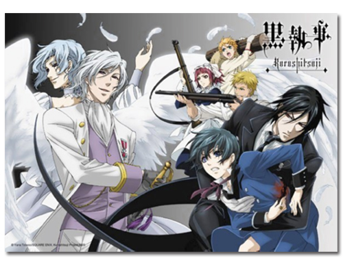 Black Butler Group 300pcs Puzzle, an officially licensed Black Butler Puzzle