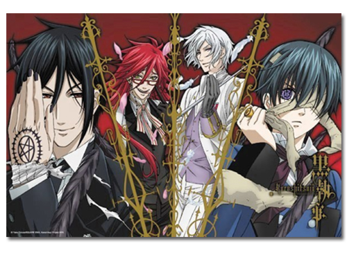 Black Butler Group 1000pcs Puzzle officially licensed product at B.A. Toys.