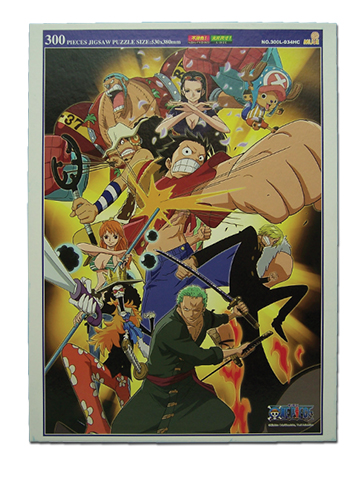 One Piece New World Order Puzzle officially licensed One Piece Puzzles product at B.A. Toys.