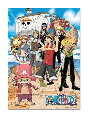 One Piece - Shiny Group 520Pcs Puzzle, an officially licensed One Piece product at B.A. Toys.