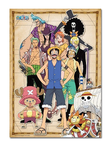 One Piece - Post Thriller Bark Group 300pcs Puzzle officially licensed One Piece Puzzles product at B.A. Toys.