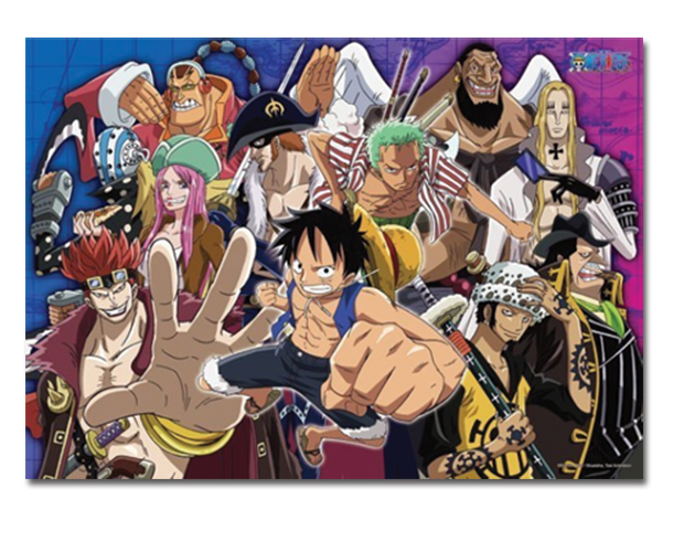 One Piece - Super Nova 2 Group 520pcs Puzzle officially licensed One Piece Puzzles product at B.A. Toys.