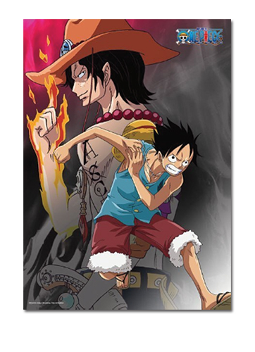 One Piece - Luffy & Ace 520pcs Puzzle officially licensed One Piece Puzzles product at B.A. Toys.