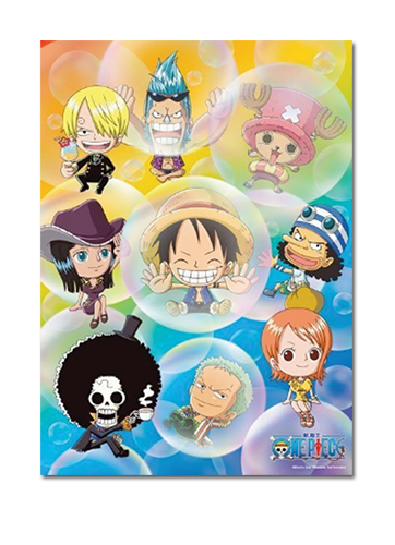 One Piece - Bubble Group 520pcs Puzzle officially licensed One Piece Puzzles product at B.A. Toys.