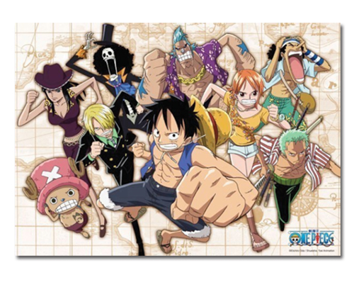 One Piece - Group Dash 520pcs Puzzle officially licensed One Piece Puzzles product at B.A. Toys.