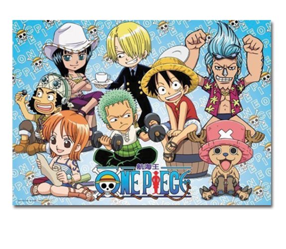 One Piece - Water 7 Group 300pcs Puzzle officially licensed One Piece Puzzles product at B.A. Toys.