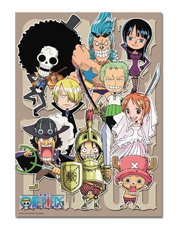 One Piece - Group 300Pcs Puzzle, an officially licensed product in our One Piece Puzzles department.