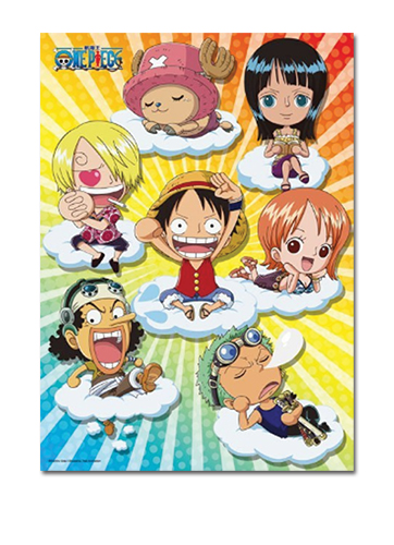 One Piece - Sd Cloud Group 300pcs Puzzle officially licensed One Piece Puzzles product at B.A. Toys.