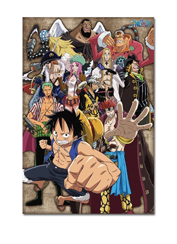 One Piece - Glow-in-the-dark Super Novas 11 Group 1000pcs Puzzle, an officially licensed One Piece product at B.A. Toys.