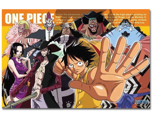 One Piece - Group 1000Pcs Puzzle, an officially licensed product in our One Piece Puzzles department.