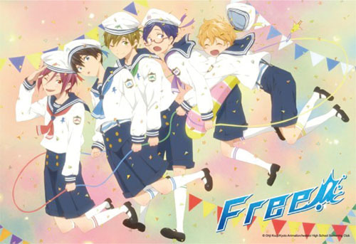 Free! - Chibi Sailors 300 Pcs Jigsaw Puzzle, an officially licensed product in our Free! Puzzles department.