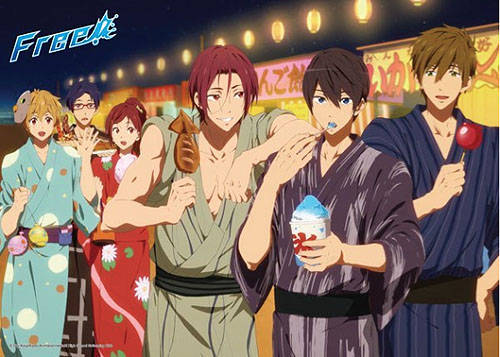 Free! - Yukata 300 Pcs Jigsaw Puzzle, an officially licensed product in our Free! Puzzles department.