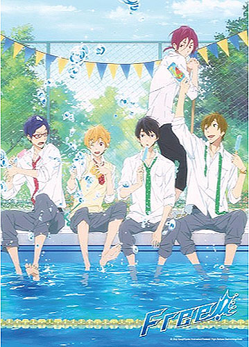 Free! - Boys Cooling Off 300 Pcs Jigsaw Puzzle, an officially licensed product in our Free! Puzzles department.