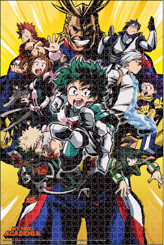 My Hero Academia - Group 01 Puzzle, an officially licensed product in our My Hero Academia Puzzles department.