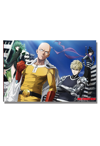 One Punch Man - Group 04 Puzzle, an officially licensed product in our One-Punch Man Puzzles department.