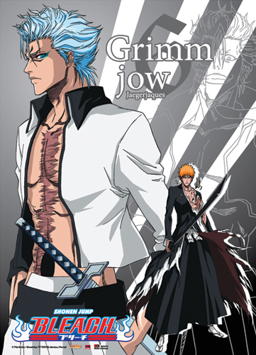Bleach Grimmjow Wall Scroll, an officially licensed Bleach Wall Scroll