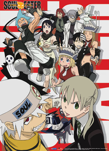 Soul Eater Vocational Bunch Wall Scroll, an officially licensed product in our Soul Eater Wall Scroll Posters department.
