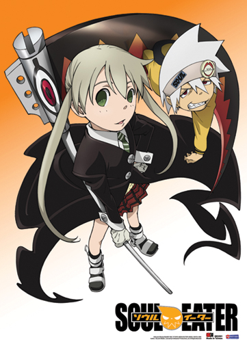 Soul Eater Maka & Soul Wall Scroll, an officially licensed product in our Soul Eater Wall Scroll Posters department.