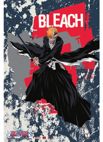 Bleach Ichigo Wall Scroll, an officially licensed Bleach product at B.A. Toys.