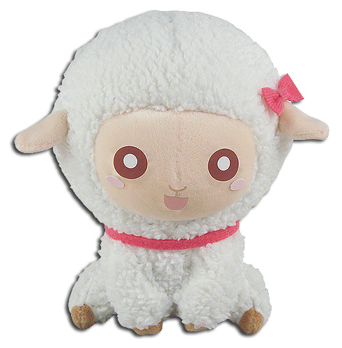 Great Eastern - White Sitting Sheep 5'' Plush, an officially licensed product in our Great Eastern Plush department.